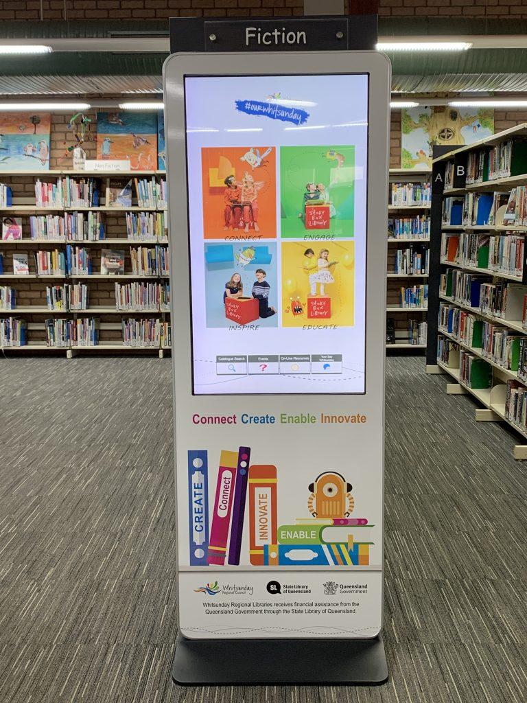 library information kiosk